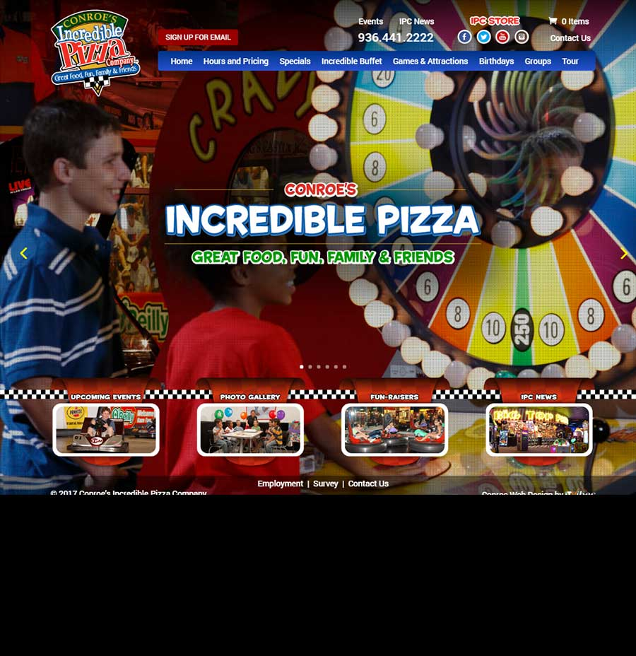 Incredible Pizza Conroe