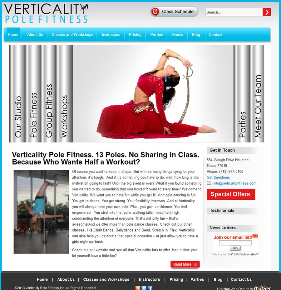 Verticality Pole Fitness