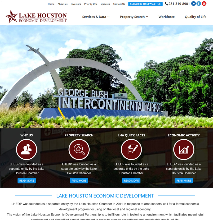 Lake Houston Economic Development
