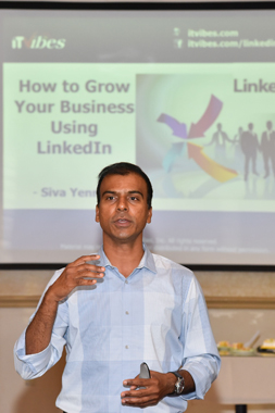 ITVibes' Director Speaks at LinkedIn Seminar Hosted by IACCGH
