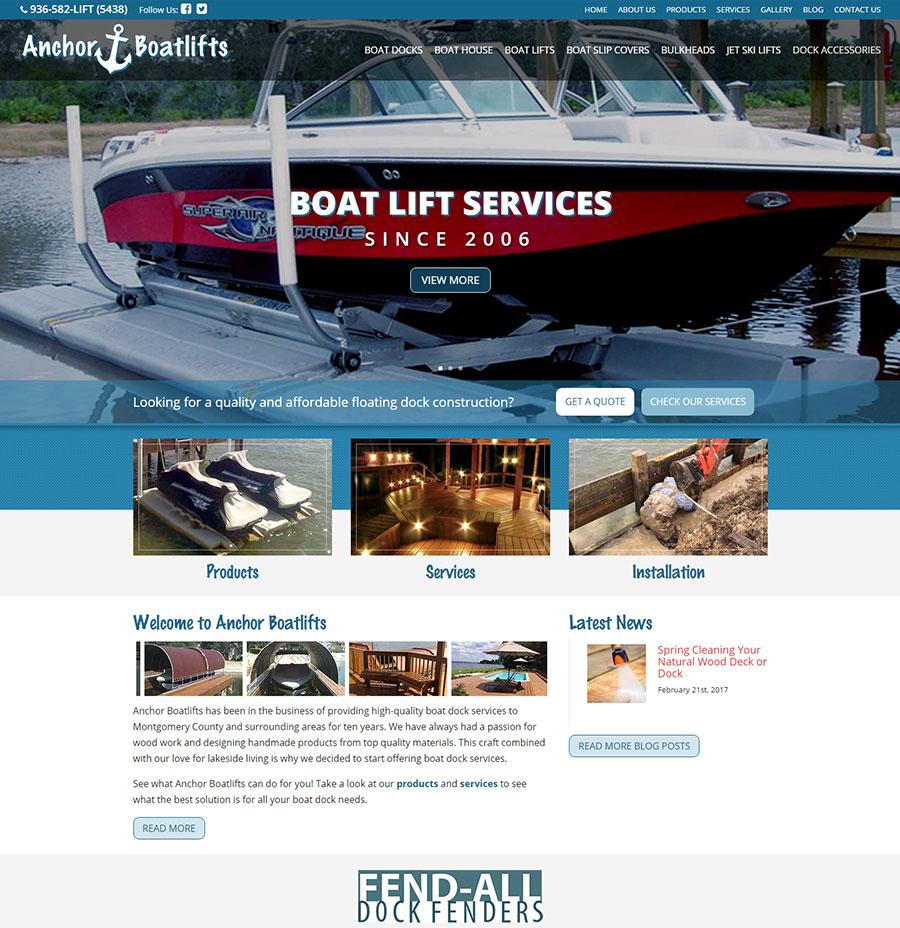 Anchor Boatlifts