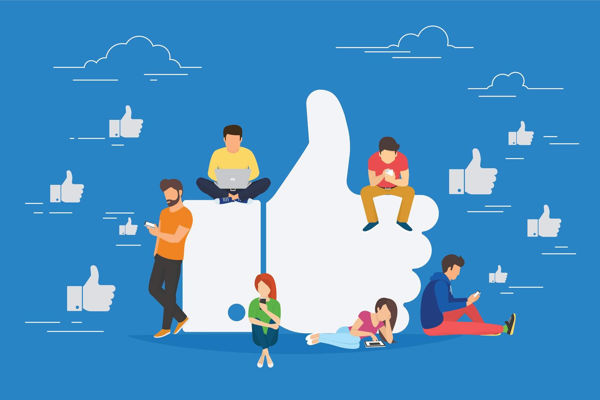 Designing a Clickable Social Media Card