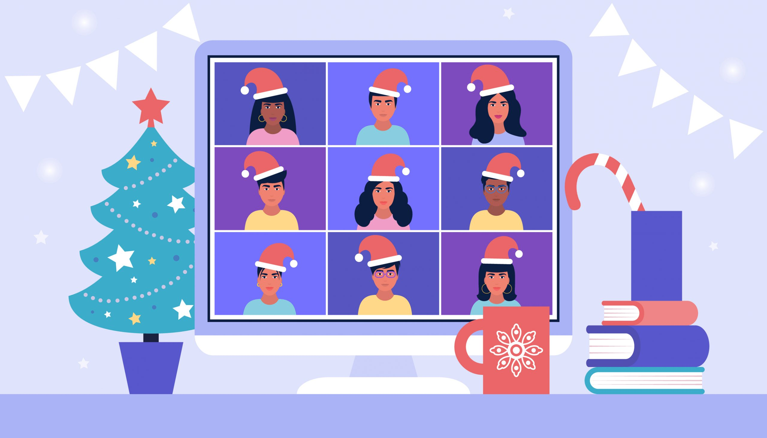 Happy Holidays from ITVibes: WFH Edition!